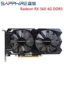 SAPPHIRE Video-Card Gaming-Graphics-Card GDDR5 Desktop Used Radeon 4GB RX560D PCI 128bit