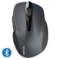 TeckNet оптическая беспроводная мышь компьютерная Bluetooth мышь 2600 dpi 2,4G Беспроводная Bluetooth мышь эргономичная мышь для ноутбука/планшета