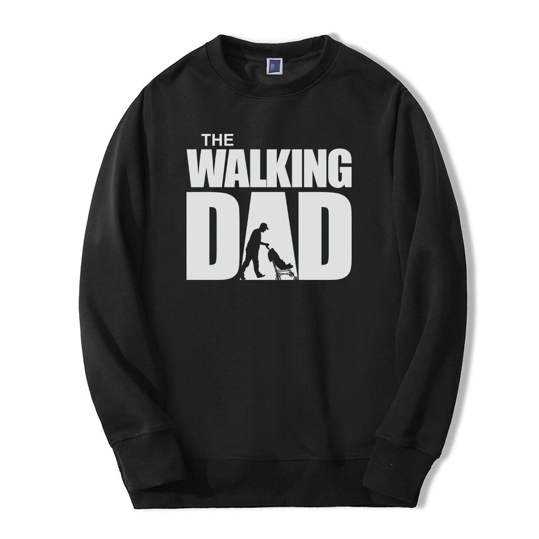 The Walking Dad Funny Print Sweatshirt TV Show 2019 Spring Winter Fashion Men Hoodies Hip Hop Style Fashion fitness Streetwear