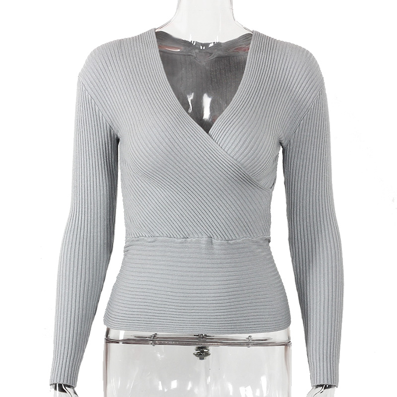 Sexy Winter Knitted Sweater V Neck Cashmere Sweater Female 19 Women Sweaters And Pullovers Autumn Long Sleeve Sweater Jumper 21