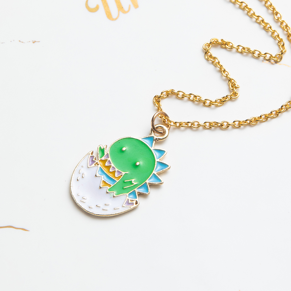 Anime Character Cartoon Necklaces Women Girl Children Christmas Deer Stocking Santa Claus Planet Moon Star Necklace&Pendant Gift (21)
