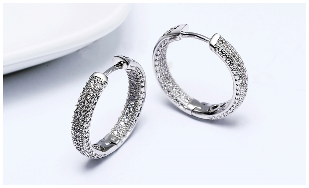 Hoop earrings SE24112 (10)