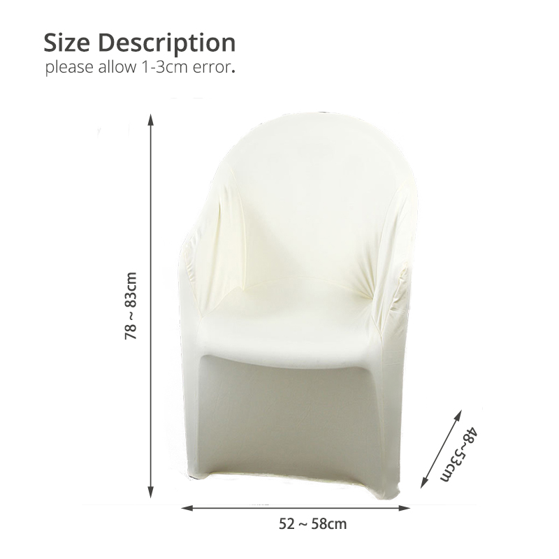 WINS Tub chair covers stretch for living room club chair covers spandex elastic armchair slipcover removable washable covers for tub chairs club chair Beige