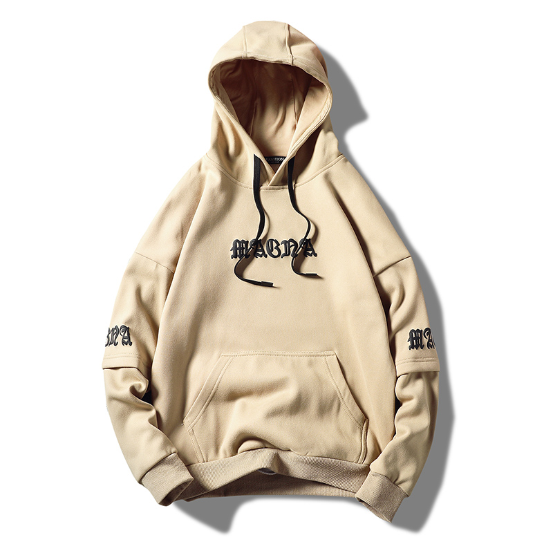 Embroidered Hooded  Streetwear Sweatshirts  Fashion  men/'s Hoodies Regular Fit Plus Size  Hip Hop