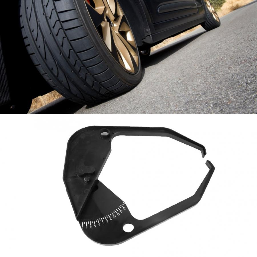 Tire Caliper ABS Plastic Car Wheel Balancer Caliper Rim Width Measuring Tool Tire Scale