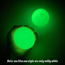Stick Wall Ball Stress Relief Ceiling balls Squash Ball Globbles Decompression toy Sticky Target Ballceiling light ball