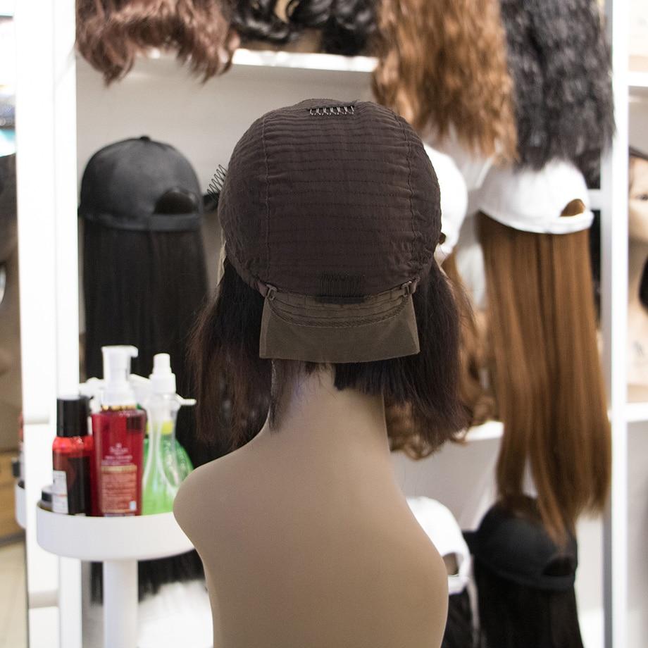 MALAIKA Bob Wig Short Lace Front Human Hair Wigs Crochet Braid Kinky Curly Braid Wigs Hair Human Hair Wigs Bob
