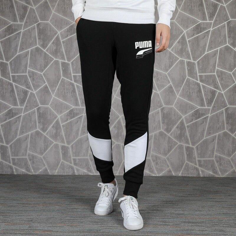 Original New Arrival PUMA REBEL Block Pants cl TR Men's Pants ...