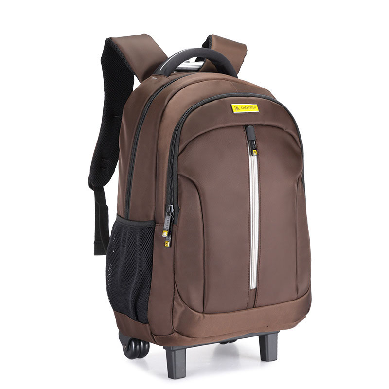 NEW Brand wheel backpack students luggage Fashion Boarding Backpack Travel multifunctional suitcase extension Computer schoolbag