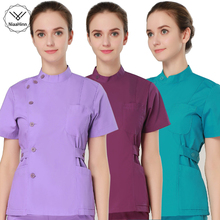 Uniforms Scrubs-Set Pet Grooming Women-Sets Beauty Salon Institution V-Neck Health-Services