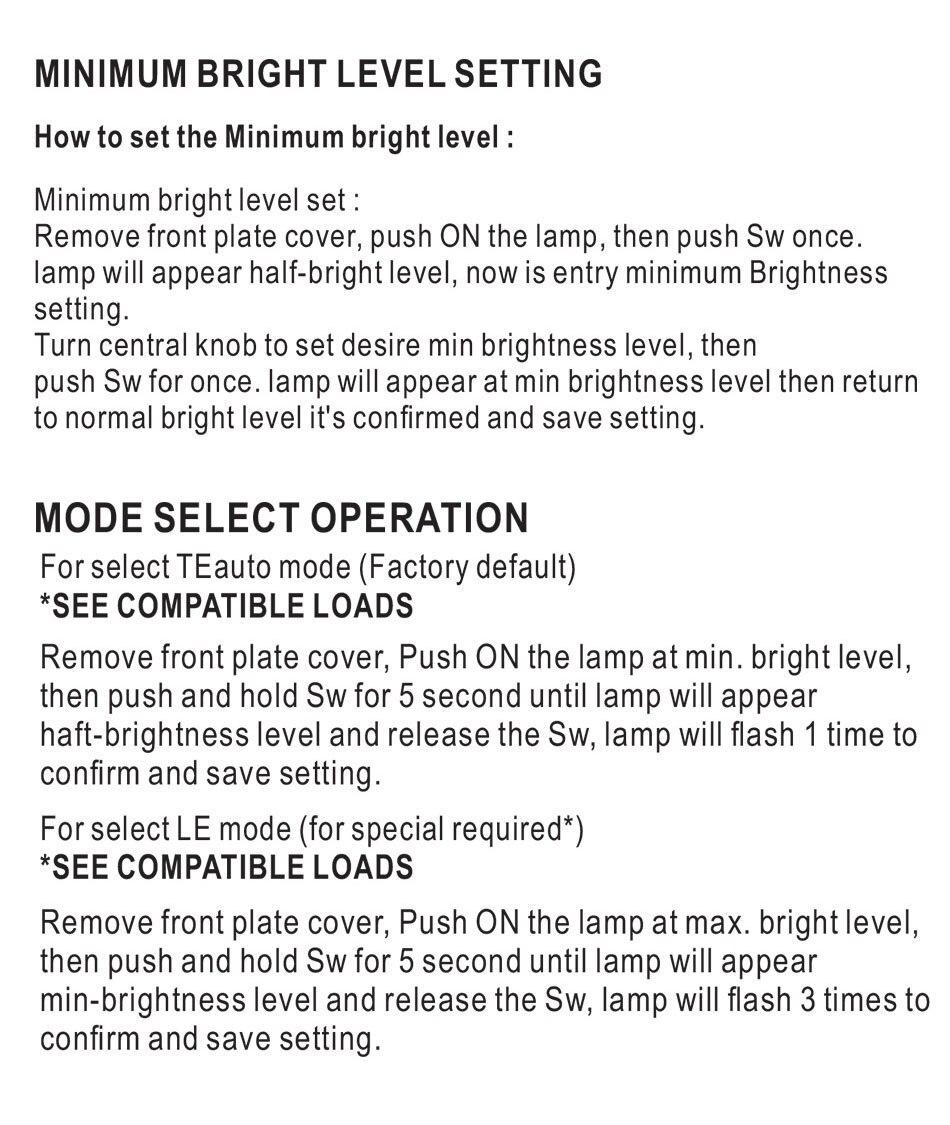 220V 230V 240V AC Led Triac Dimmer 400W Dimming Wall Mount Rotary Panel Manual Adjustable Brightness Controller For LED Lights (11)