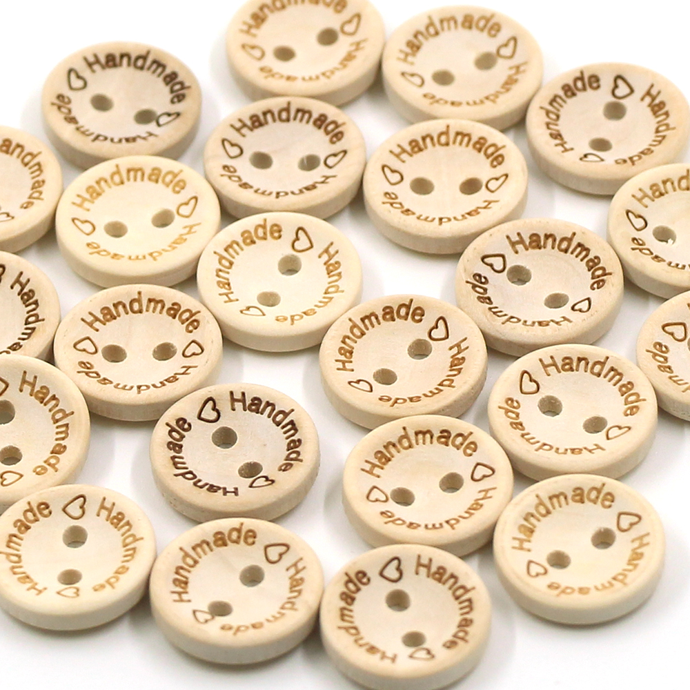 50Pcs-Round-Wooden-Buttons-Natural-Color-Handmade-Button-2-Holes-Baby-Sewing-Buckle-15MM-20MM-25MM(4)