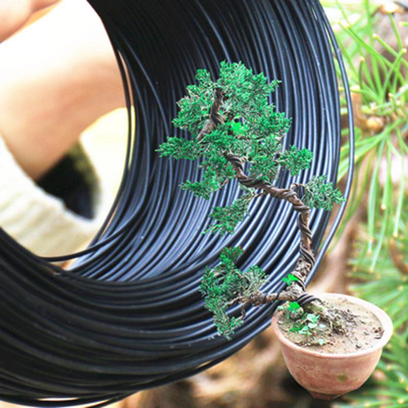 3pcs 15M Bonsai Black Aluminium Wires For Professionals //Beginners Tree Training