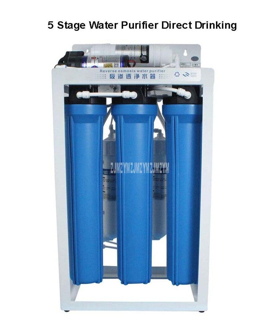 Bacterias o Oxido Filtro de Agua potable de 5 Etapas Purificador de Agua Osmosis Inversa Eliminar el Sedimento de Agua Sistema de Filtraci/ón de Agua Potable