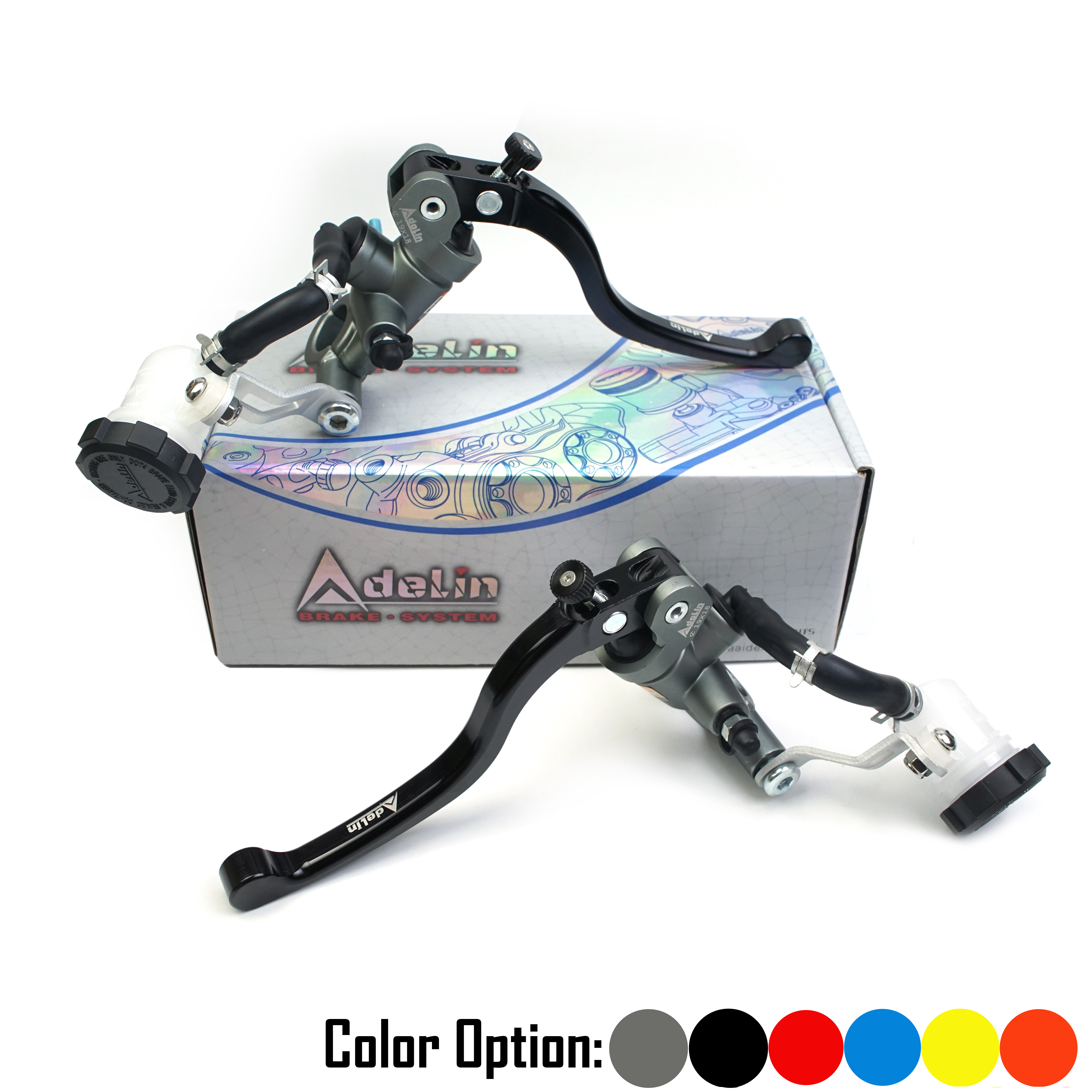 Adelin PX1 Motorcycle 19mm 16mm 17.5mm Brake Master Cylinder Hydraulic FOR R1 R3 R6 FZ6 title=