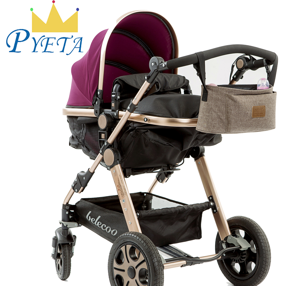 WITH LOTS OF BABY ITEMS DIAPER BABY BUGGY CARRIAGE