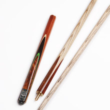China Factory Price Taco De Sinuca Snooker Cue Stick Billiard 3/4 Jointed Ash Wood Shaft Snooker Cue Stick For Billiards House
