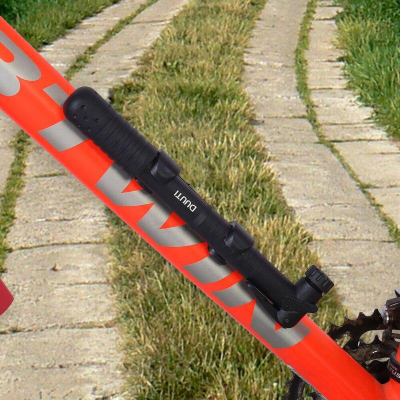 Gurxi Bomba de Mano Peque/ña con V/álvulas Presta y Schrader Port/átil Bomba de Bicicleta Compacta Peque/ña y Ligera para Bicicletas de Monta/ña Bicicleta de Carrera Bicicletas H/íbridas Bicicleta Ni/ños MTB