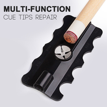Multi-function Billiard Accessories Pool Cue Tips Repair Tool Snooker Burnisher Shaper Tapper High Practicability Easy To Carry