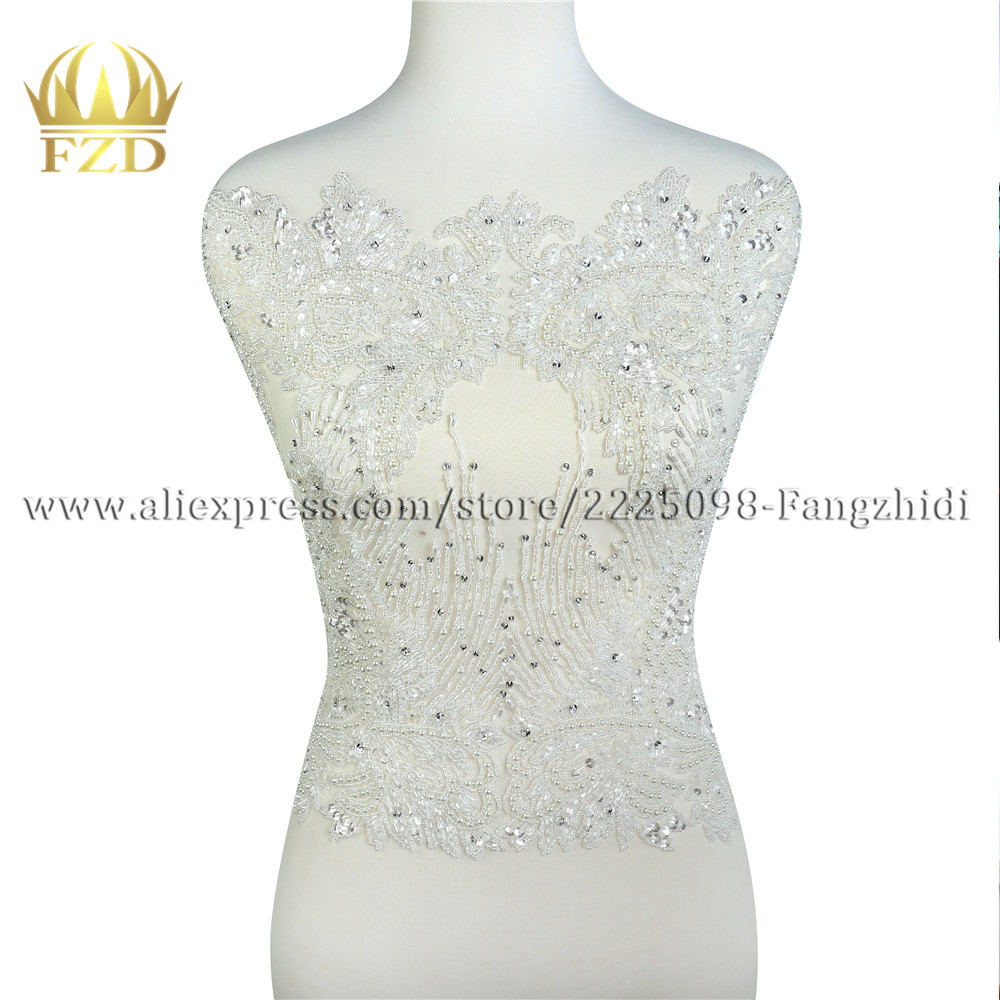 1PC Crystal Rhinestone Floral Short Chain Bikini Wedding Dress Costume Decor New