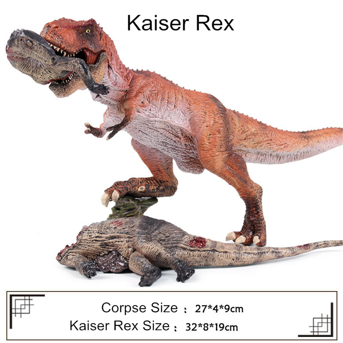 Large Tyrannosaurus Rex Dinosaur Toy Educational Model Birthday Kids Gift