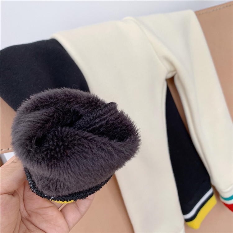 2019 New Arrival Girls Thicken Leggings Autumn Winter Fashion Baby Kids Girls Long Pants 1-6T