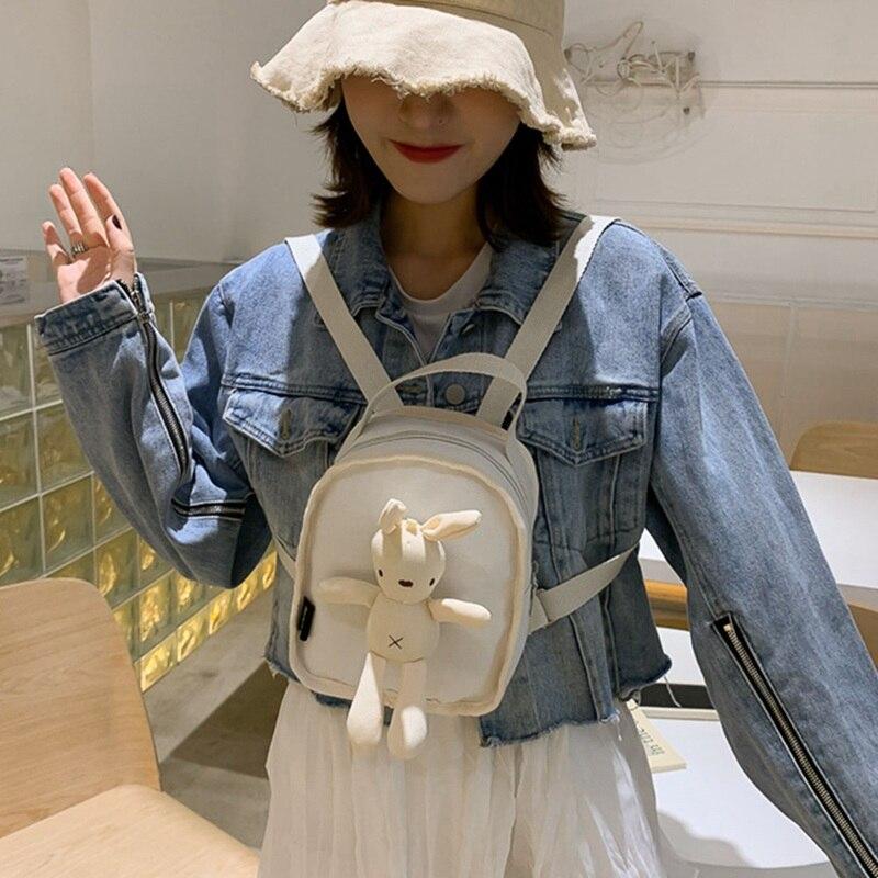 Rabbit backpack Lovely student School Bags casual shoulder bag travel purse daypack