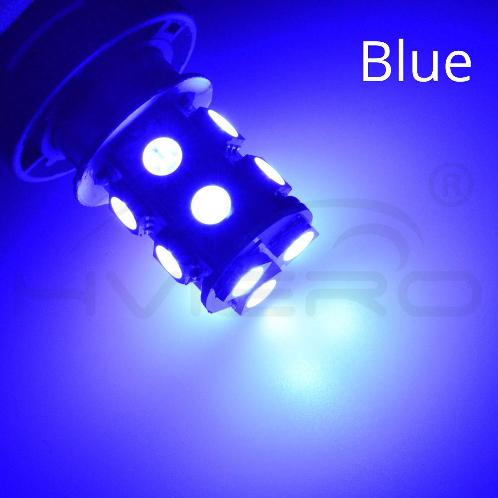 Hviero 1156 BA15S 1157 BAY15D P21W BA15D 13Led 5050 Car Led Turn Parking Signal Lights Brake Tail Lamps Auto Rear Reverse Bulbs DC 12V