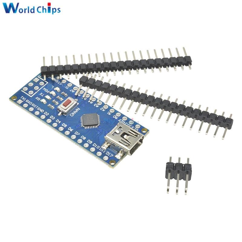 CH340 UNO R3 ATmega328P Mini USB Board For Compatible Arduino Controller PCB TR