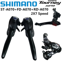 Groupset Derailleur Bike 2x7-Speed Shimano Tourney Cycling-Part Cycle Front A070