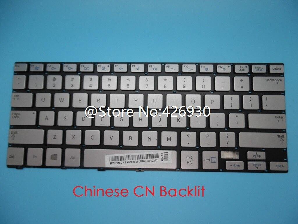Laptop Keyboard for Samsung NP730U3E NP740U3E 740U3E 730U3E Chinese CN BA59-03668L with Backlit