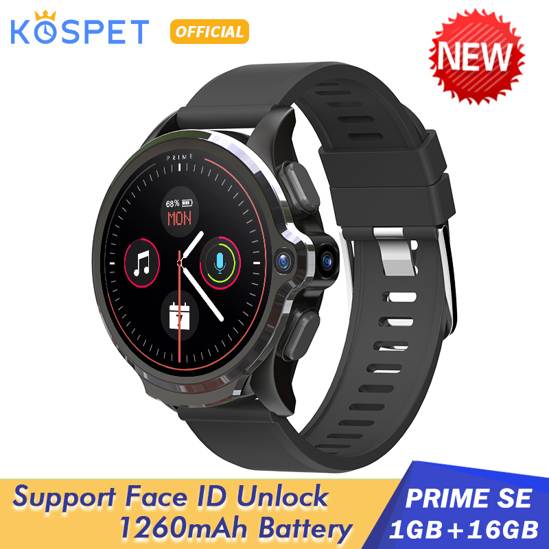 KOSPET Smart-Watch Ios-Phone Xiaomi 1260mah Android Men 1GB 4G 16GB for Face-Id SE Unclok title=