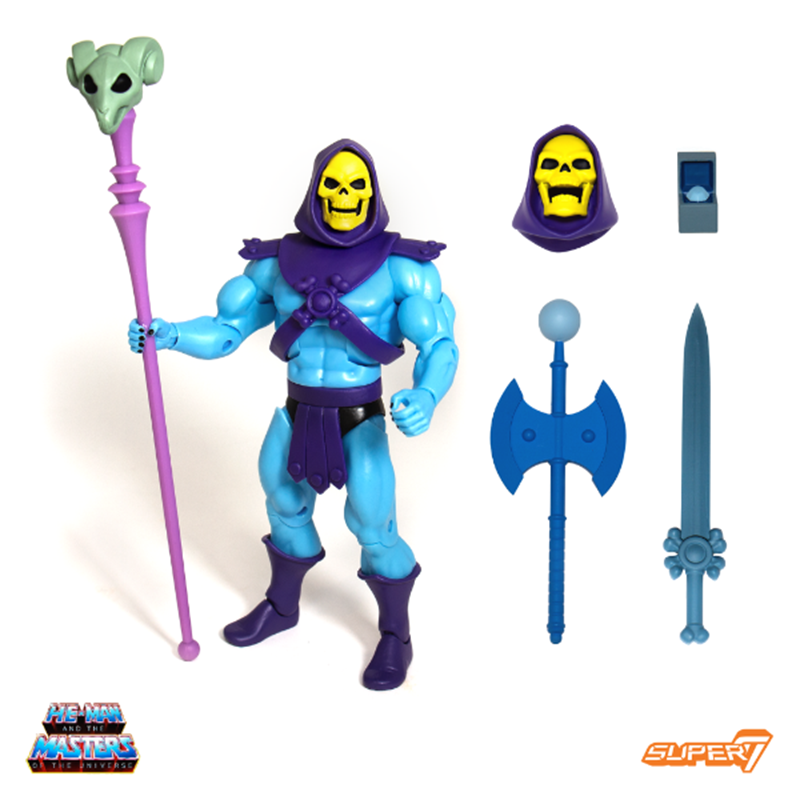 MOTU ULTIMATES GRAYSKULL Super 7 S7 He-man /& Skeletor Figure Filmation  NEW SET