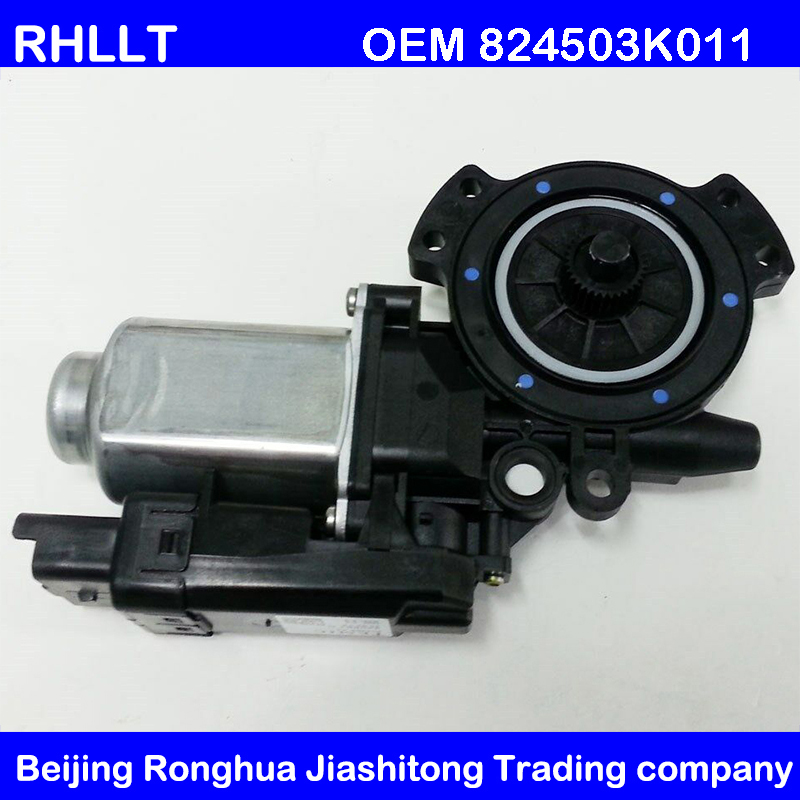 Genuine Hyundai Parts 82450-3K011 Driver Side Front Door Glass Regulator Motor