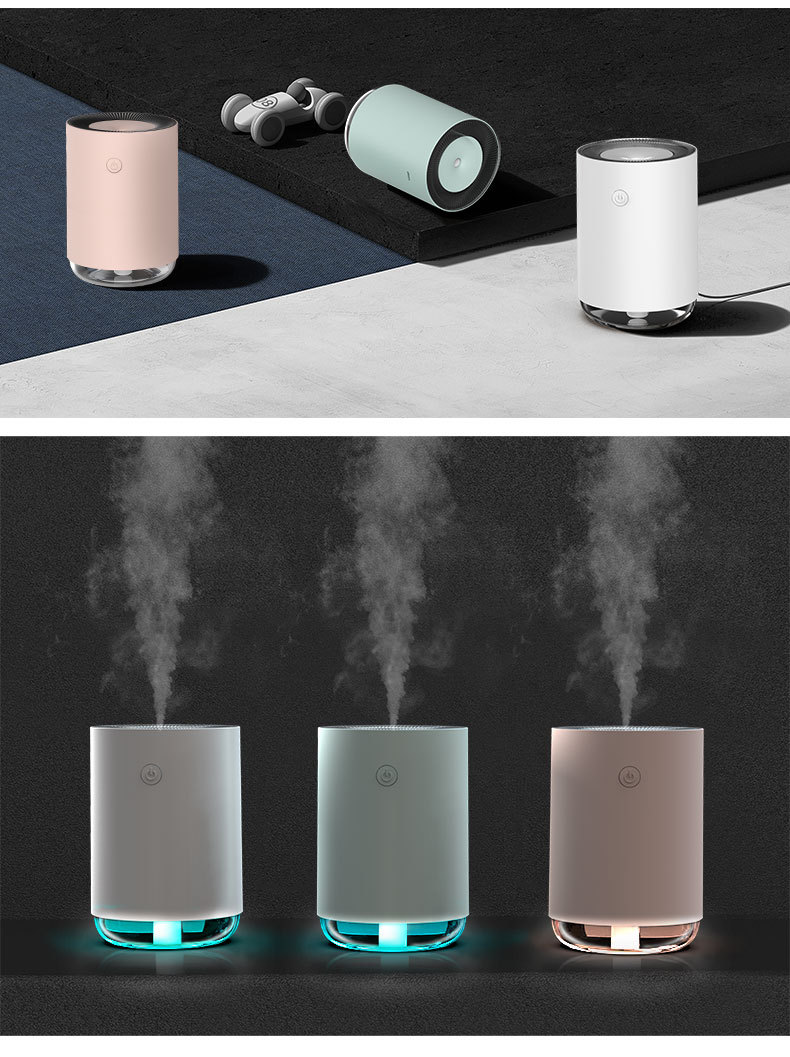 Mini USB Air Humidifier Essential Oil Diffuser