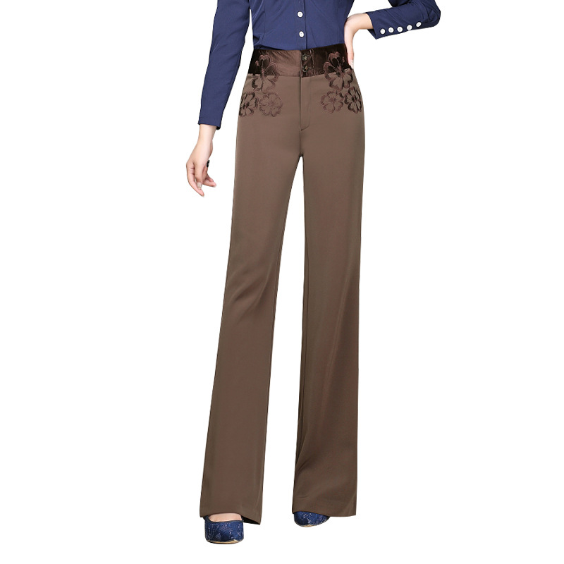 Autumn and Winter Women Pants Fashionable Casual Pants The Korean Version Plus Size Loose High-waisted Pants