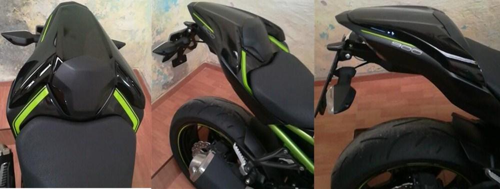 AHOLAA Motocicletta Z 900 Coprisedile posteriore Cowl Passenger Pillion,Moto Sedile Cowl Carenatura Copri code per Kawasaki Z900 //ABS 2017 2018 2019 2020 Aspetto in carbonio