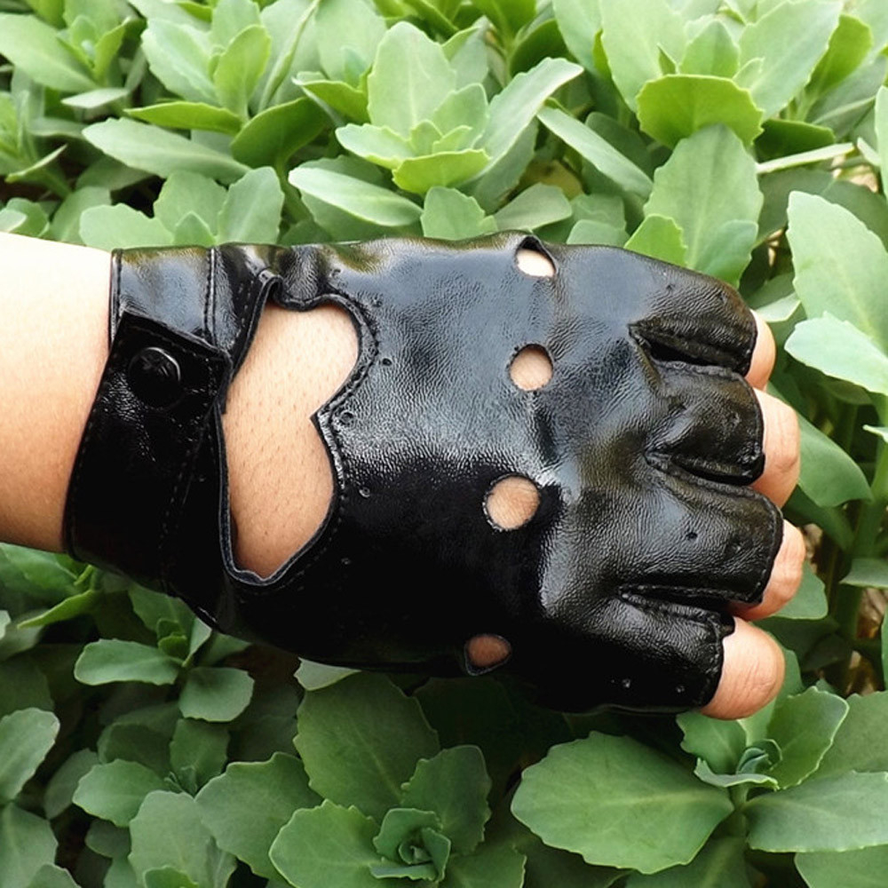 Fashion Women Touch Full Gloves Military Army Paintball Airsoft  Imitation Leather Bicycle Combat PU Leather Mitten 1011