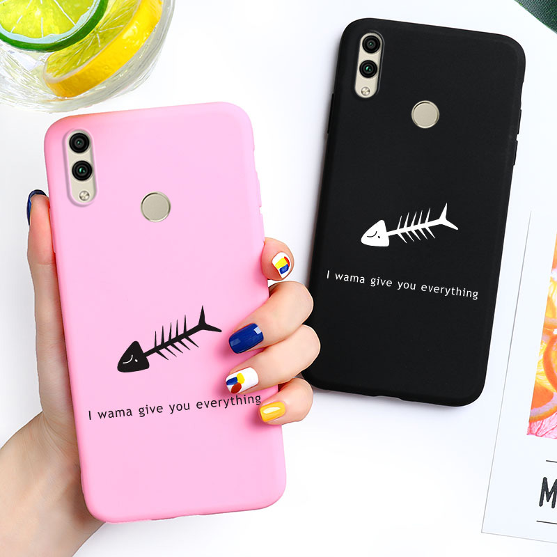 Honor 9 10 Lite Case For Huawei Honor 7A Pro 7C 8C 8X 20 8A 8S 3D DIY Painted Candy Cover For Huawei Y6 Y5 Prime 2018 2019 Cases