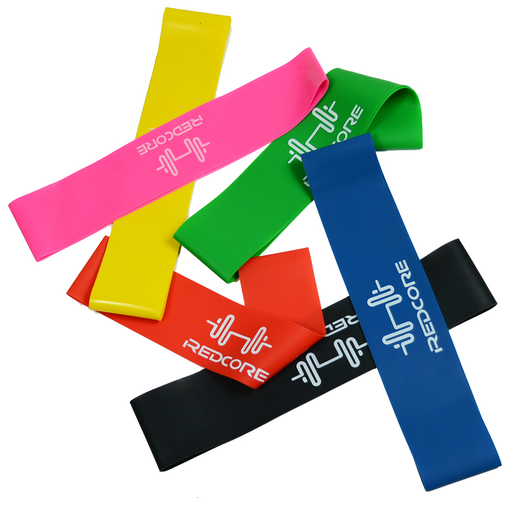 6 Colors Yoga Resistance Bands Workout Training Pilates Rubber Loops 0.35mm-1.3mm Sport Elastic Bands for Fitness Body Building  (19)