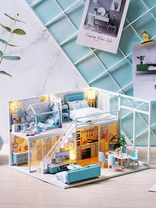 CUTEBEE Dollhouse Wo...