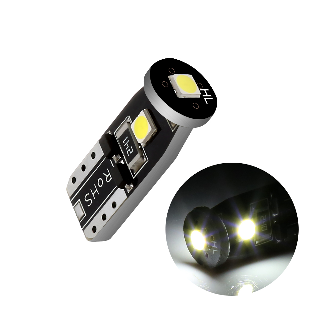 chengyida 10-Pack T10/W5/W Leuchtmittel Verl/ängerung Draht Verkabelung Steckn/üsse T10/W5/W LED Birne Keil Auto Halter Anschluss Adapter-Verl/ängerung