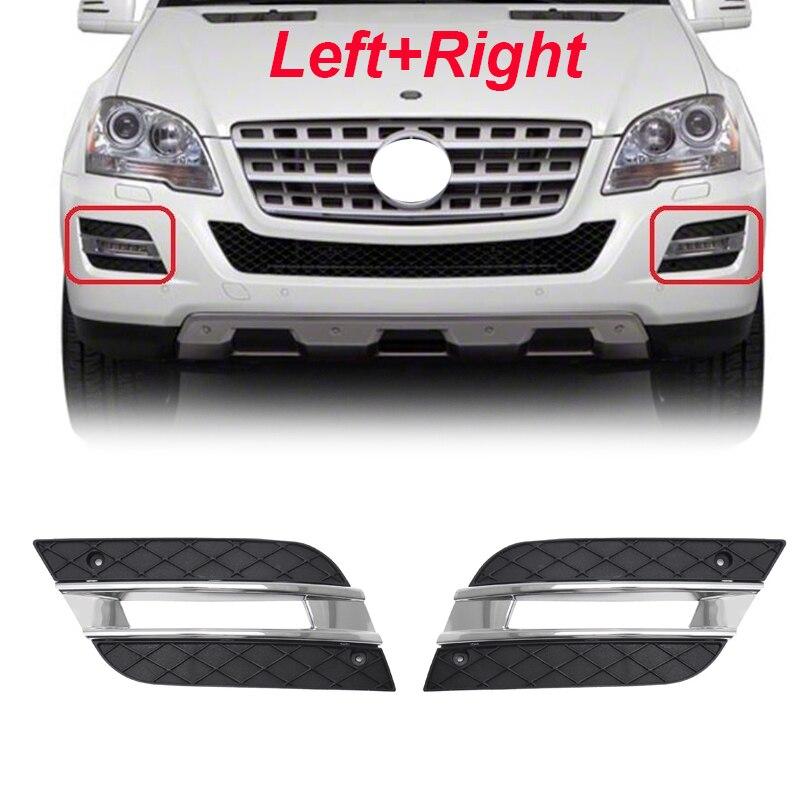 Front Left Bumper Fog Light Cover Cap For Mercedes Benz ML-Class 2006-2008