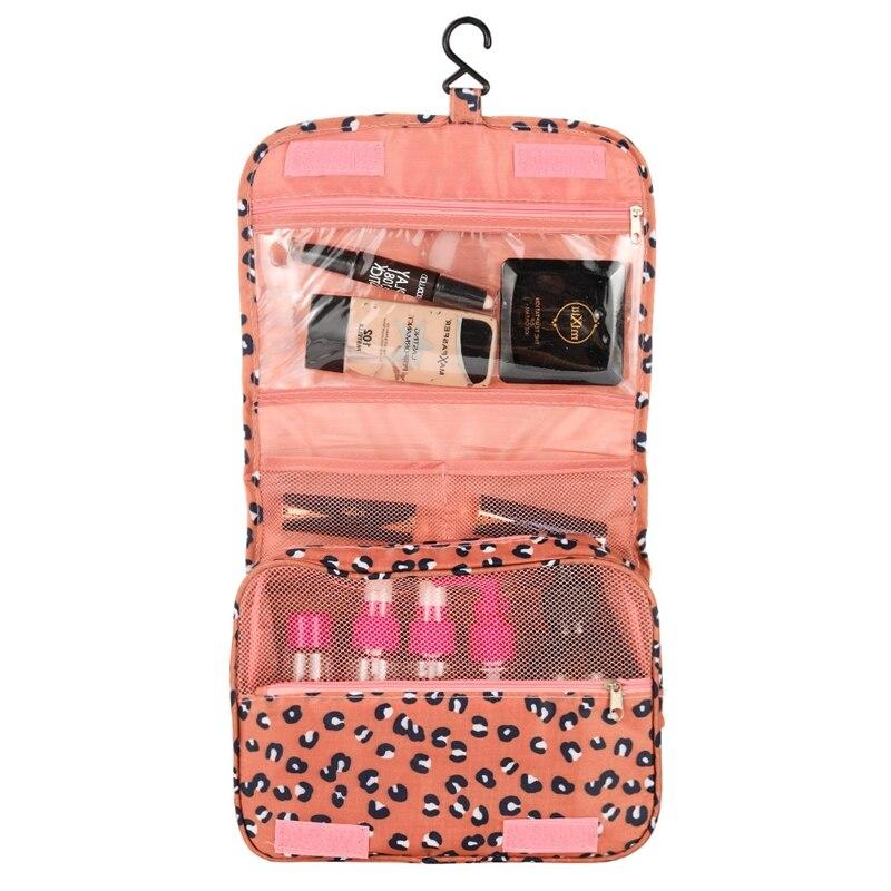 Travel Hanging Toiletry Bag Portable Makeup Comestic Organiser Folding Travel Wash Bag Idea for Men Women Travelers