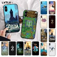 Чехол для телефона LVTLV The Legend of Zelda map, черный чехол из ТПУ с корпусом для iPhone 11 pro XS MAX 8 7 6S Plus X 5S SE 2020 XR(Китай)