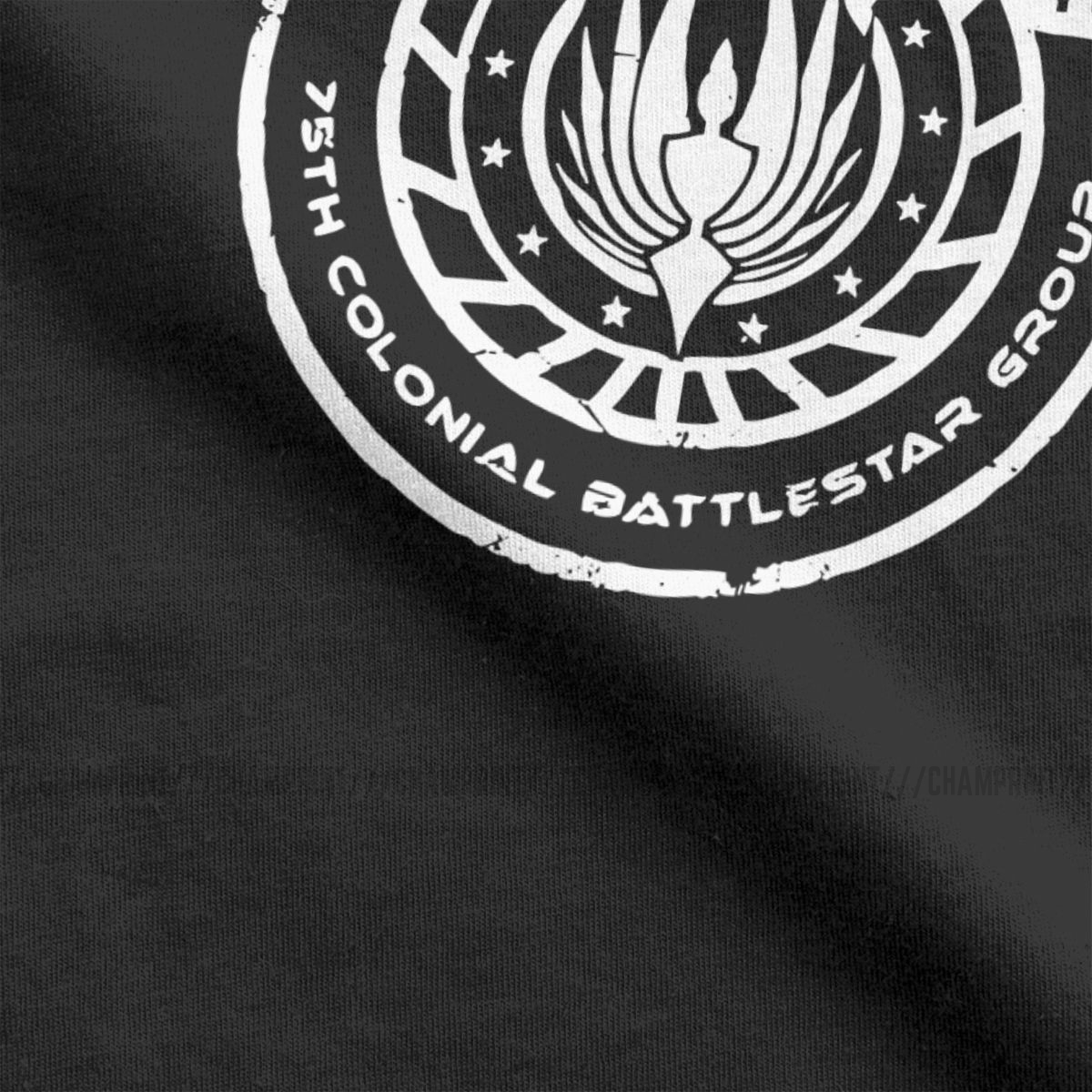 Men Galactica Bs 75 Battlestar Galactica T Shirt Dwight The Office Bears Cotton Short Sleeve Tees Birthday Present T-Shirts