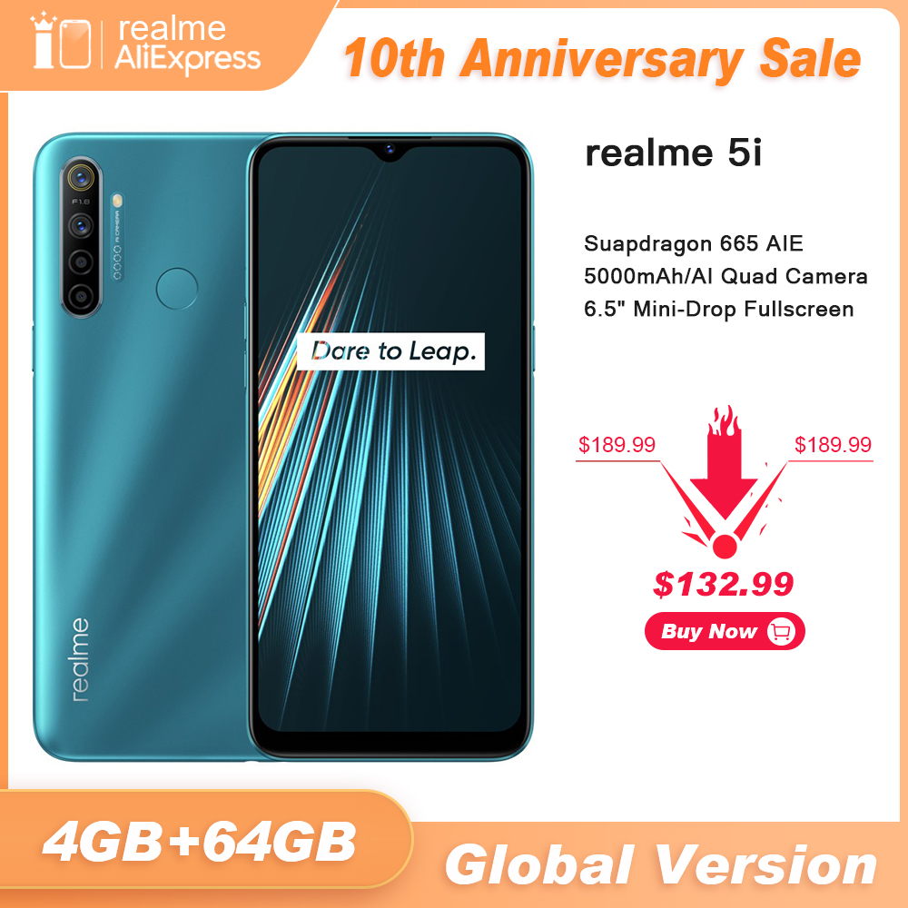 Realme 64GB 4gbb WCDMA/GSM/LTE Gorilla Glass/bluetooth 5.0 Octa Core Fingerprint Recognition title=