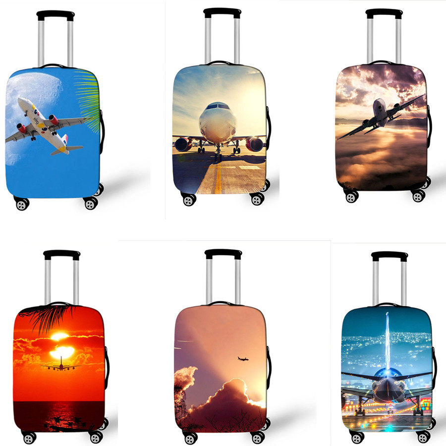 Tree Travel Luggage Protector Suitcase Cover 18-32 Inch for Travel Luggage Protective Suitcase Covers