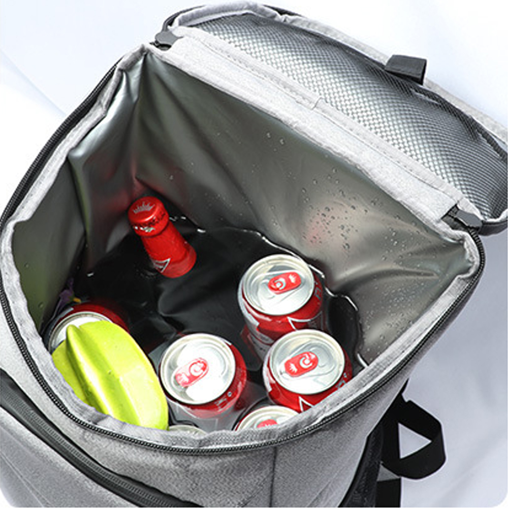 30L Outing Cooler Bag Thermal Insulated Backpack for Beer Drink Food Picnic Storage Waterproof Oxford Portable Mini Refrigerator