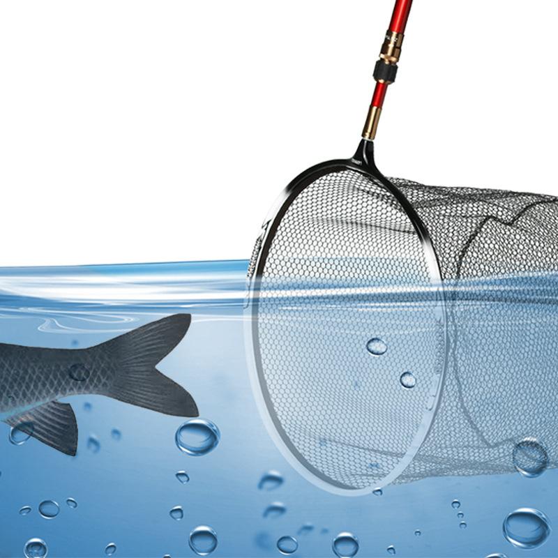 Replacement Fishing Net Brail Nano Landing Net Removable Anti-adhesive